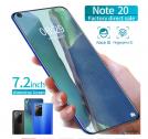Note20 7.2 Inch HD 8g+256g Phone